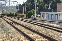East Sea Train Station, Jeongdongjin Royalty Free Stock Photo