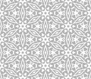 East seamless pattern. Vintage oriental ornament of mandalas. Royalty Free Stock Photos