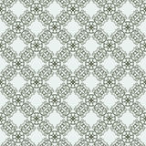 East seamless two-tone pattern with curls. Pastiche of traditional Chinese ornament. Vector illustration stock illustration