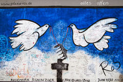 East Side Gallery, Alles offen Royalty Free Stock Photo