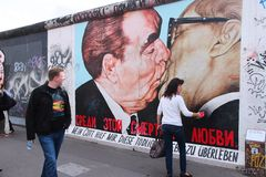 East Side Gallery, Berlin Royalty Free Stock Photography