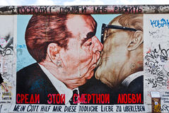 East Side Gallery in Berlin, Germany Royalty Free Stock Photos