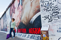 East Side Gallery in Berlin, Germany Stock Photo