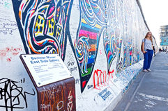 East Side Gallery in Berlin, Germany Royalty Free Stock Photo
