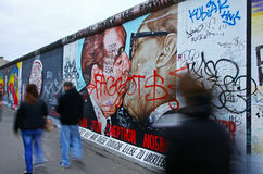 East Side Gallery in Berlin, Germany Stock Images