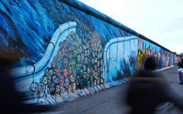 East Side Gallery in Berlin, Germany Royalty Free Stock Image