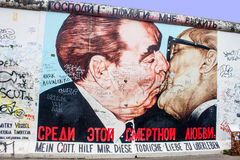 East Side Gallery in Berlin Stock Image