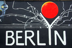 The East Side Gallery Stock Photos