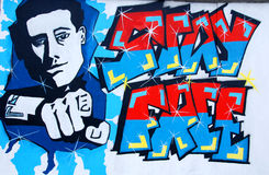 The East Side Gallery Royalty Free Stock Photo