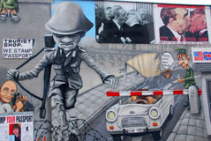 The East Side Gallery Royalty Free Stock Image