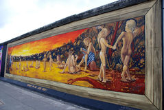 East Side Gallery Stock Photography