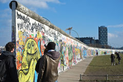 East Side Gallery in Berlin Royalty Free Stock Image