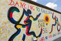 East Side Gallery - Berlin Wall. Berlin, Germany Stock Image