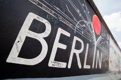 East Side Gallery - Berlin Wall. Berlin, Germany Stock Photo