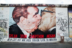 East Side Gallery - Berlin Wall. Berlin, Germany Royalty Free Stock Photo