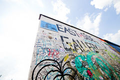 East Side Gallery - Berlin Wall. Berlin, Germany Stock Image