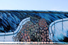 East Side Gallery - Faces Royalty Free Stock Photography