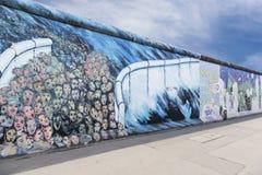 East side gallery graffiti gap wall Royalty Free Stock Photos