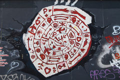 East Side Gallery, Meteorit der Liebe Royalty Free Stock Images