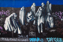 East Side Gallery, Ohne Titel by Madeira Rodrigues Stock Images