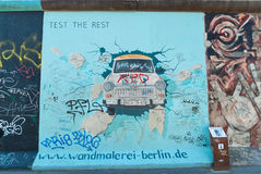East Side Gallery Royalty Free Stock Photography