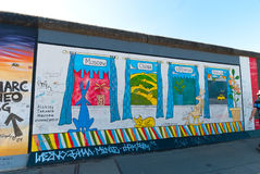 East Side Gallery Royalty Free Stock Image