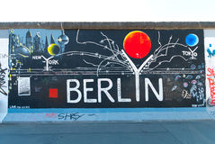 East Side Gallery Stock Images