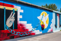 East Side Gallery Royalty Free Stock Images