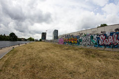 East Side Gallery - Street Art and Graffiti in Berlin, Germany Royalty Free Stock Photos