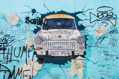 East Side Gallery, Test the Rest Stock Image