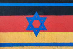 East Side Gallery, Vaterland Royalty Free Stock Photos
