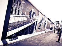 East side gallery Stock Image