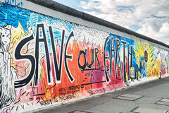 East Side Gallery Royalty Free Stock Photo