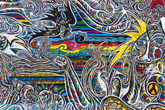 East Side Gallery, Worlds People II Stock Images