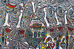East Side Gallery, Worlds People III Stock Images