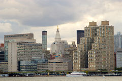 East Side of Manhattan, NY Stock Photography