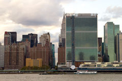 East Side of Midtown Manhattan, NY Royalty Free Stock Image