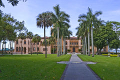 East Side of Ringling Mansion Stock Image
