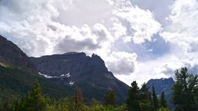 East side View, Glacier National Park royalty free stock image