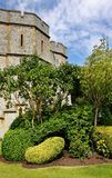 East side of Windsor Castle in England Stock Photos