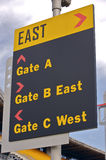 East Sign Royalty Free Stock Images
