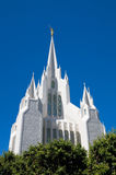 East Spire of San Diego LDS Temple Stock Photos