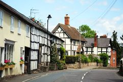 East Street buildings, Pembridge. Stock Photography