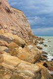 East Sussex coast, UK. Royalty Free Stock Photos