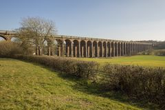 Ouse Valley Viaduct Stock Photography
