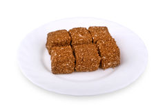 East sweets isolated on plate Royalty Free Stock Image