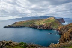 East tail of Madeira island landscape Stock Images