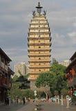 East temple Pagoda in Kunming Stock Photo
