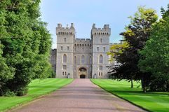 East Terrace of Windsor Castle - England Stock Images