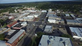 EAST TEXAS TOWN  HENDERSON TEXAS stock footage